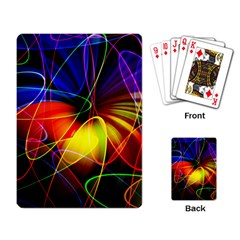 Fractal Pattern Abstract Chaos Playing Card