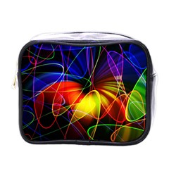 Fractal Pattern Abstract Chaos Mini Toiletries Bags