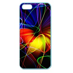 Fractal Pattern Abstract Chaos Apple Seamless Iphone 5 Case (color) by Nexatart