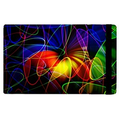 Fractal Pattern Abstract Chaos Apple Ipad 3/4 Flip Case by Nexatart