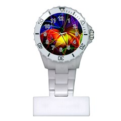 Fractal Pattern Abstract Chaos Plastic Nurses Watch by Nexatart