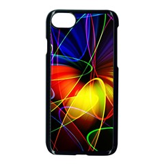 Fractal Pattern Abstract Chaos Apple Iphone 7 Seamless Case (black)