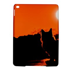 Sunset Cat Shadows Silhouettes Ipad Air 2 Hardshell Cases by Nexatart