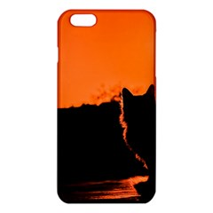 Sunset Cat Shadows Silhouettes Iphone 6 Plus/6s Plus Tpu Case by Nexatart