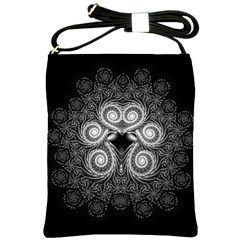 Fractal Filigree Lace Vintage Shoulder Sling Bags