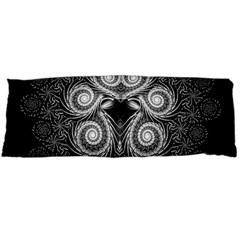 Fractal Filigree Lace Vintage Body Pillow Case (dakimakura) by Nexatart