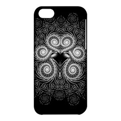 Fractal Filigree Lace Vintage Apple Iphone 5c Hardshell Case by Nexatart