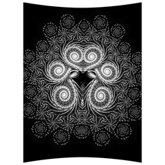 Fractal Filigree Lace Vintage Back Support Cushion by Nexatart