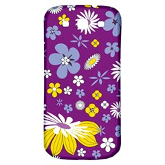 Floral Flowers Samsung Galaxy S3 S Iii Classic Hardshell Back Case