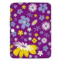 Floral Flowers Samsung Galaxy Tab 3 (10 1 ) P5200 Hardshell Case