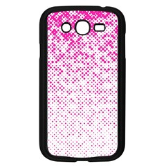 Halftone Dot Background Pattern Samsung Galaxy Grand Duos I9082 Case (black)