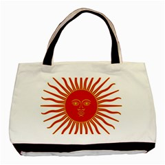 Peru Sun Of May, 1822 1825 Basic Tote Bag (two Sides) by abbeyz71
