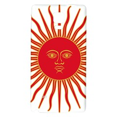 Peru Sun Of May, 1822 1825 Galaxy Note 4 Back Case by abbeyz71