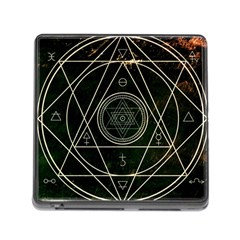 Cult Of Occult Death Detal Hardcore Heavy Memory Card Reader (square) by Sapixe