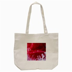 Crystal Flowers Tote Bag (cream)