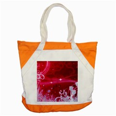 Crystal Flowers Accent Tote Bag by Sapixe