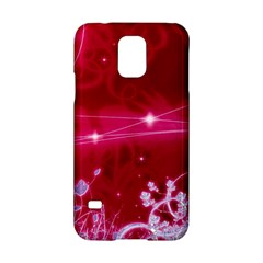 Crystal Flowers Samsung Galaxy S5 Hardshell Case