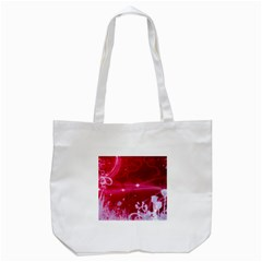 Crystal Flowers Tote Bag (white)