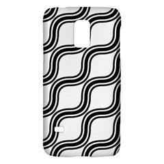 Diagonal Pattern Background Black And White Galaxy S5 Mini by Sapixe