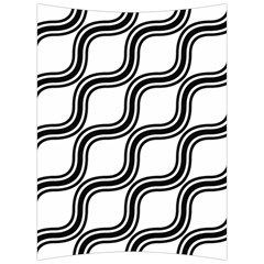 Diagonal Pattern Background Black And White Back Support Cushion by Sapixe