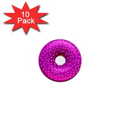 Donut Transparent Clip Art 1  Mini Magnet (10 Pack)