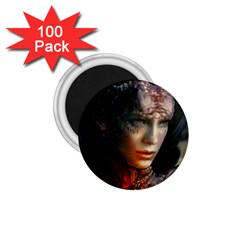 Digital Fantasy Girl Art 1 75  Magnets (100 Pack)  by Sapixe