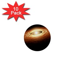 Erupting Star 1  Mini Buttons (10 Pack)