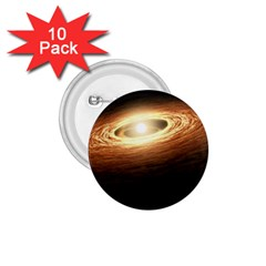 Erupting Star 1 75  Buttons (10 Pack)