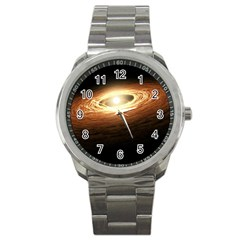Erupting Star Sport Metal Watch by Sapixe