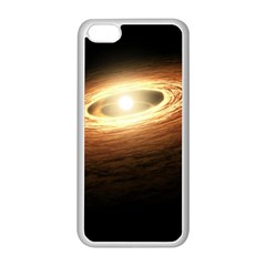 Erupting Star Apple Iphone 5c Seamless Case (white) by Sapixe
