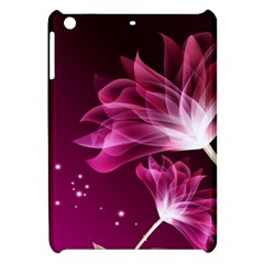 Drawing Flowers Lotus Apple Ipad Mini Hardshell Case by Sapixe