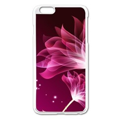 Drawing Flowers Lotus Apple Iphone 6 Plus/6s Plus Enamel White Case by Sapixe
