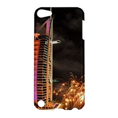 Dubai Burj Al Arab Hotels New Years Eve Celebration Fireworks Apple Ipod Touch 5 Hardshell Case