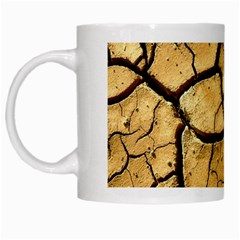 Dry Ground White Mugs