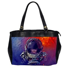 Eve Of Destruction Cgi 3d Sci Fi Space Office Handbags (2 Sides)