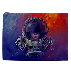 Eve Of Destruction Cgi 3d Sci Fi Space Cosmetic Bag (xxl)  by Sapixe