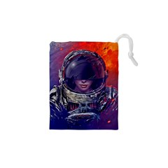 Eve Of Destruction Cgi 3d Sci Fi Space Drawstring Pouches (xs)  by Sapixe