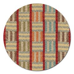 Fabric Pattern Magnet 5  (round)