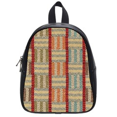Fabric Pattern School Bag (small) by Sapixe