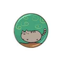 Fat Cat Hat Clip Ball Marker (4 Pack)