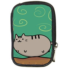 Fat Cat Compact Camera Cases by Sapixe