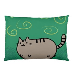 Fat Cat Pillow Case (two Sides)