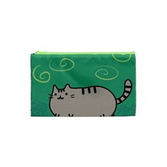 Fat Cat Cosmetic Bag (xs) by Sapixe
