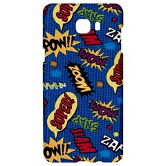 Fabric Comic Words Samsung C9 Pro Hardshell Case