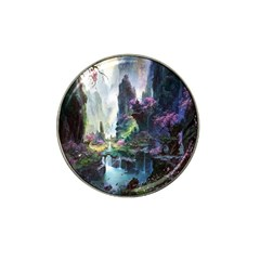 Fantastic World Fantasy Painting Hat Clip Ball Marker (4 Pack)