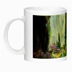 Fantastic World Fantasy Painting Night Luminous Mugs by Sapixe