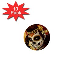 Fantasy Girl Art 1  Mini Buttons (10 Pack)
