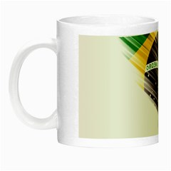 Flag Of Brazil Night Luminous Mugs by Sapixe