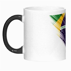 Flag Of Brazil Morph Mugs