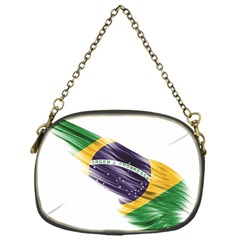 Flag Of Brazil Chain Purses (one Side)  by Sapixe